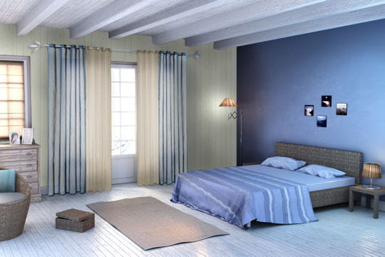 style bord de mer papiers peints les tendances pour 2013 linternaute. Black Bedroom Furniture Sets. Home Design Ideas