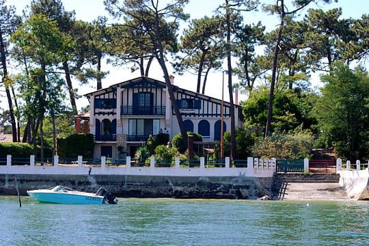 Bassin d'Arcachon : Maison landaise