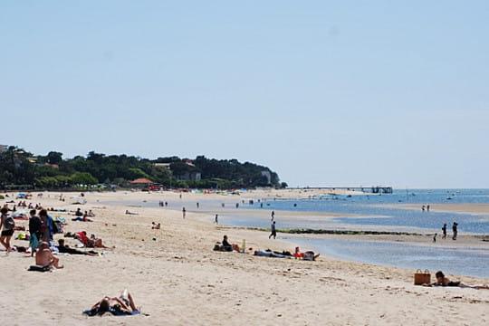 bassin d'arcachon : plage pereire
