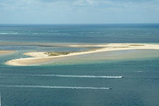 Bassin d'Arcachon : Réserve naturelle du banc d'Arguin