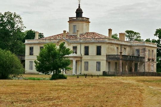 Bassin d'Arcachon : Château du Domaine de Certes