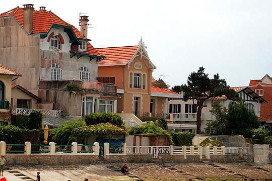 bassin d'arcachon : villas balnéaires