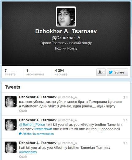 dzhokhar tsarnaev un nom et une bio pour le suspect tch tch ne arr t boston linternaute. Black Bedroom Furniture Sets. Home Design Ideas