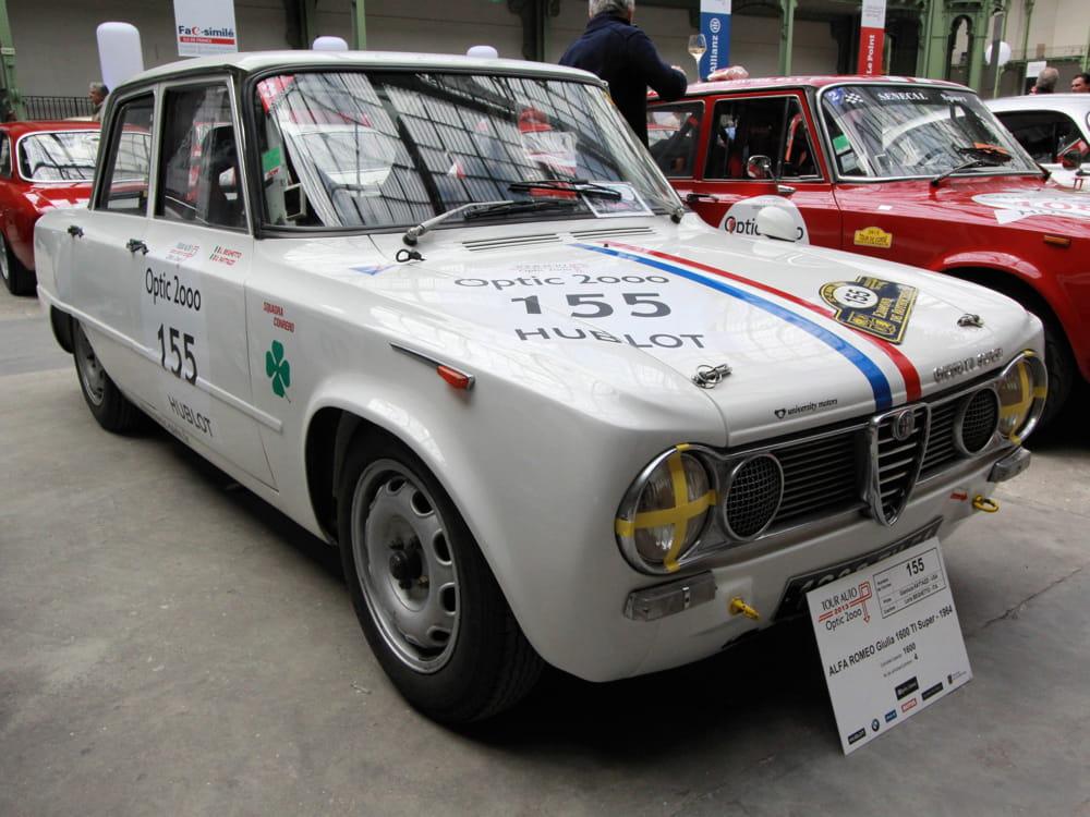 alfa romeo giulia 1600 ti super 1964 tour auto 2013 les plus belles voitures de collection. Black Bedroom Furniture Sets. Home Design Ideas
