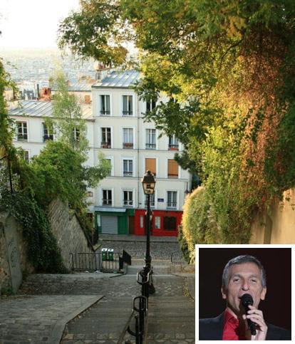 Nagui montmartrois d 39 adoption - Maison de star francaise ...