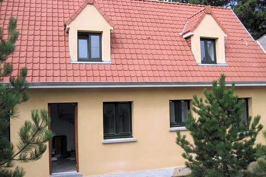 La maison vue de l 39 ext rieur une cabane de p cheur for Exterieur vieille maison