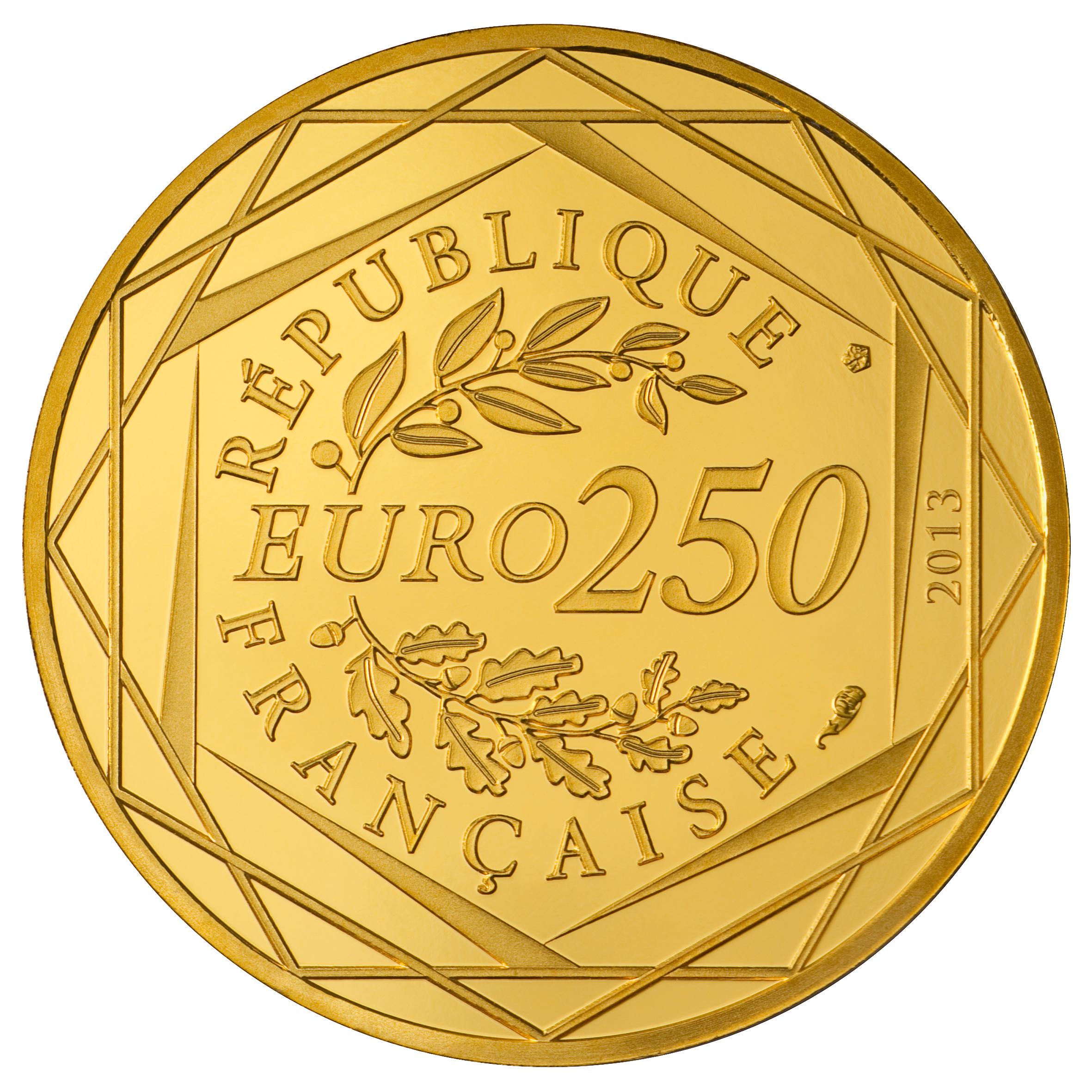 Les euros de la paix une pi ce d 39 or 250 euros pi ces - Mesurer hygrometrie d une piece ...