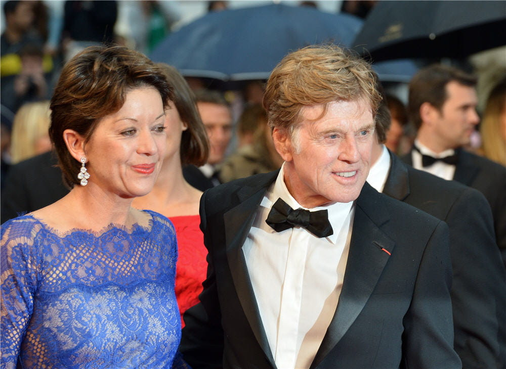 Robert Redford couple