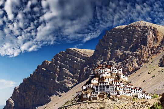 dhankar sur la falaise