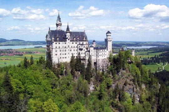 le château dormant de neuschwanstein