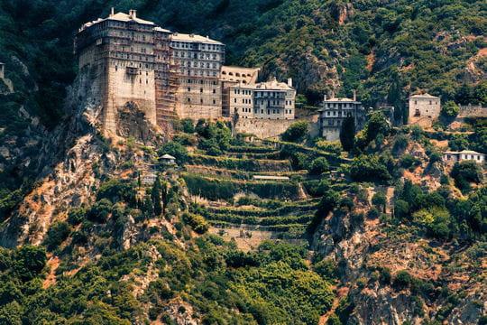 le monastère de simonopetra