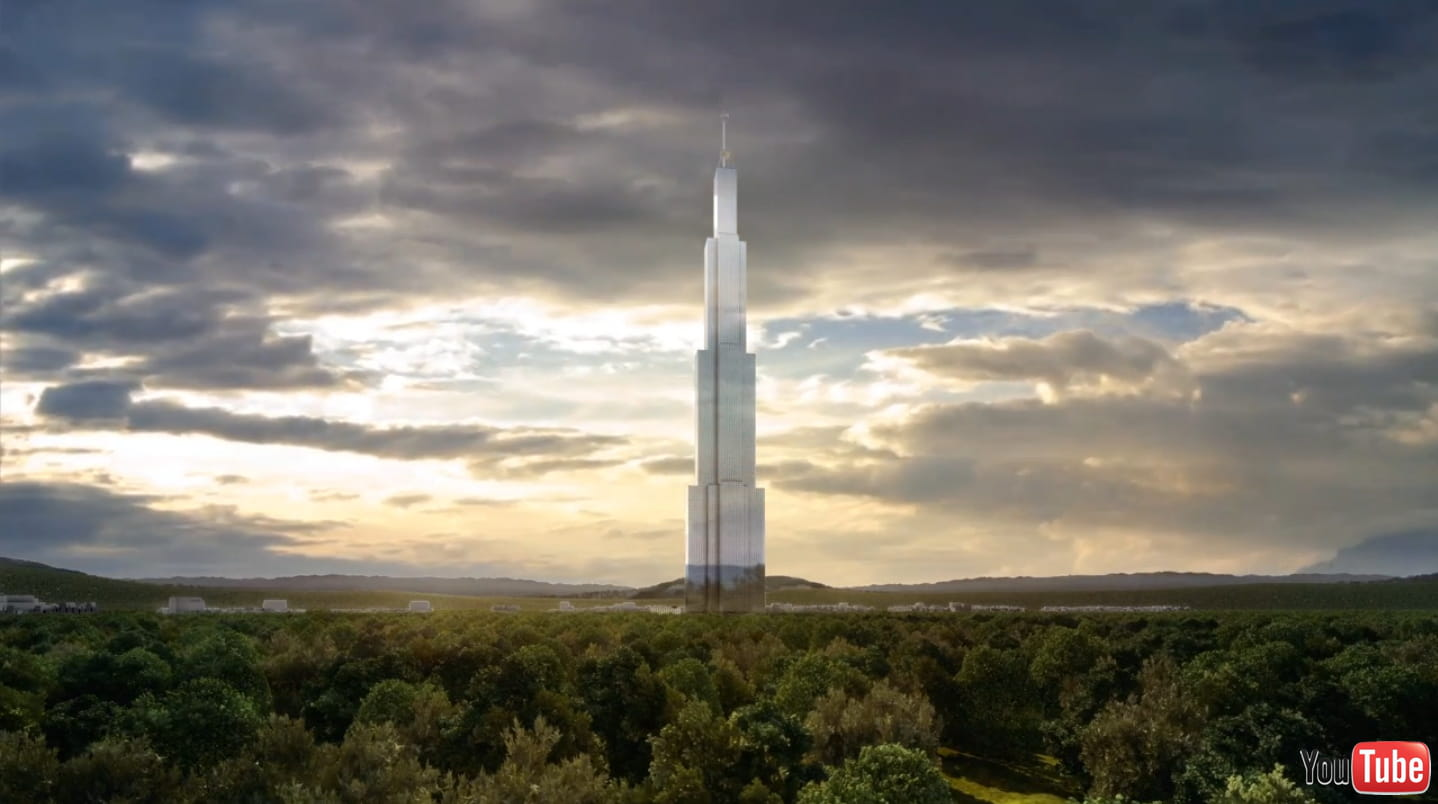 Sky city la tour la plus haute du monde changsha les projets les plus fo - Projet tour la plus haute du monde ...