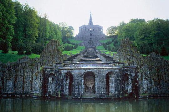 Le bergpark wilhelmsh he en allemagne patrimoine mondial for Le pamir nantes