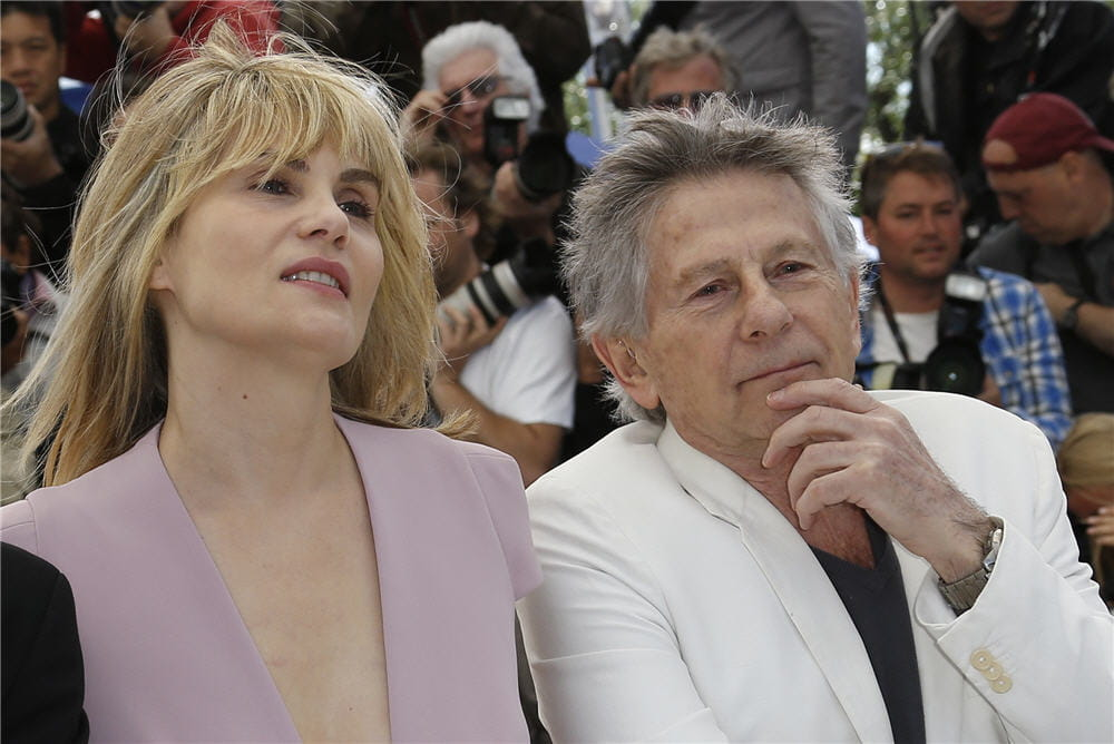 Emmanuelle Seigner couple