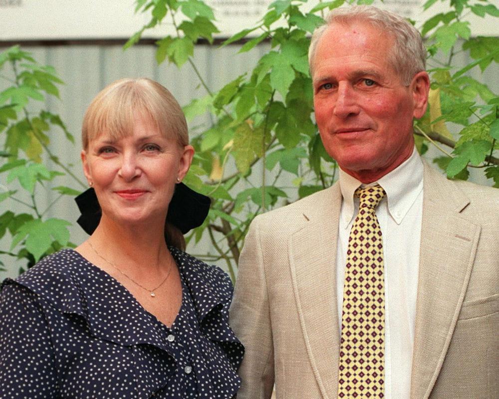 Joanne Woodward couple