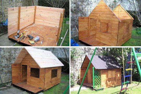 parquet de r cup ration les plus belles cabanes des lecteurs linternaute. Black Bedroom Furniture Sets. Home Design Ideas