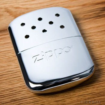 Le zippo chauffe main for Exterieur zippo