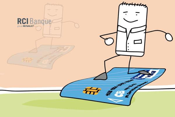 7e renault avec une visa classique associ un cr dit renouvelable les cartes bancaires les. Black Bedroom Furniture Sets. Home Design Ideas