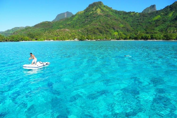 A Tahiti Un Nom De R Ve Les Plus Beaux Lagons Du Monde Linternaute