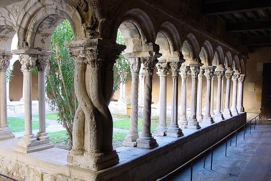 Aix-en-Provence : Cloître de la Cathédrale Saint-Sauveur