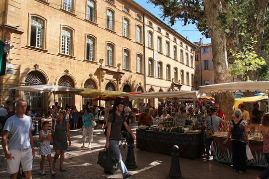 Aix-en-Provence : Marchés provençaux