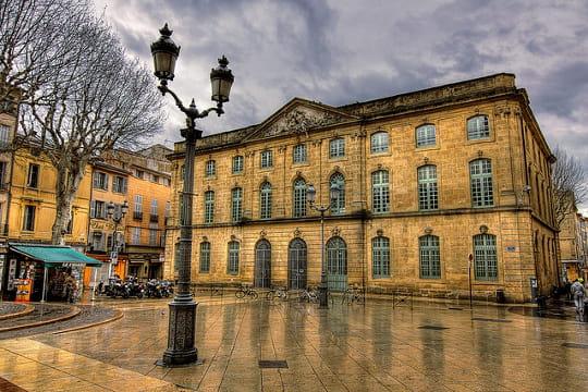 Aix-en-Provence : Halle aux grains