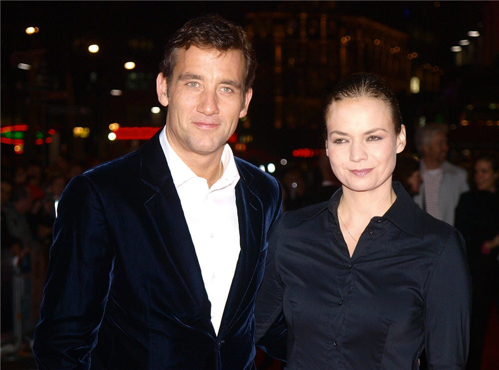 Clive Owen couple