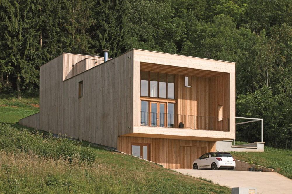 Maison paysage echenoz la m line 70 les plus belles maisons contemporai - Les plus belles maisons contemporaines ...
