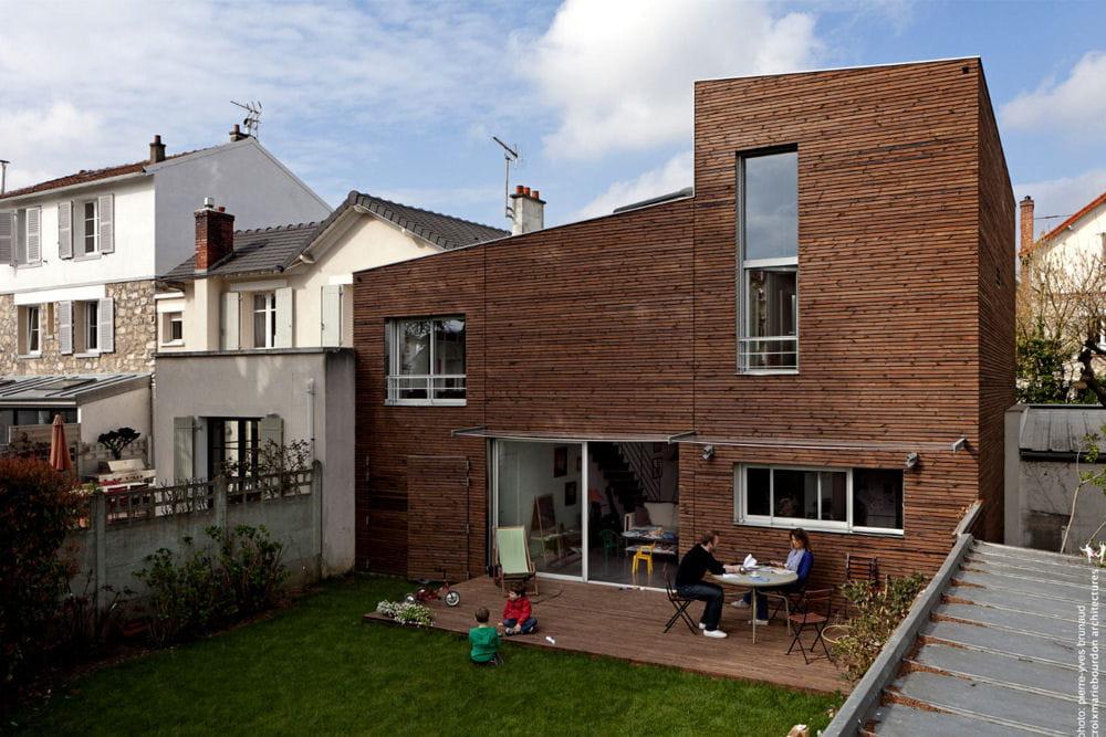 Maison hpe saint cloud 92 les plus belles maisons for Les plus belles maisons contemporaines