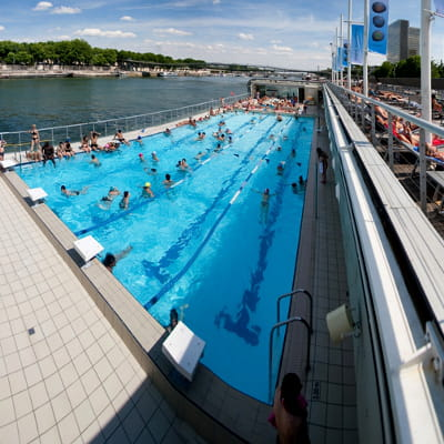 Piscine jos phine baker paris les plus belles piscines for Piscine josephine baker