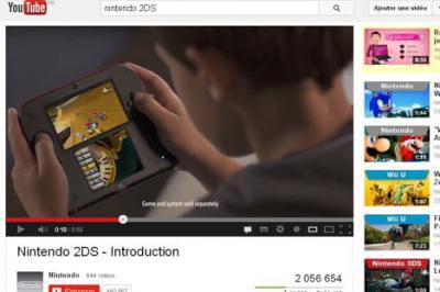 Nintendo 2ds une nouvelle console low cost sans la 3d linternaute - Derniere console nintendo ...