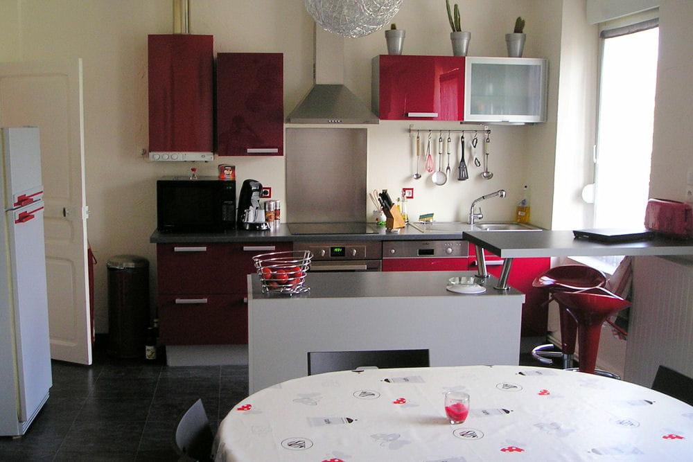 Une premi re cuisine 15 cuisines am nag es par les for Les cuisines amenagees
