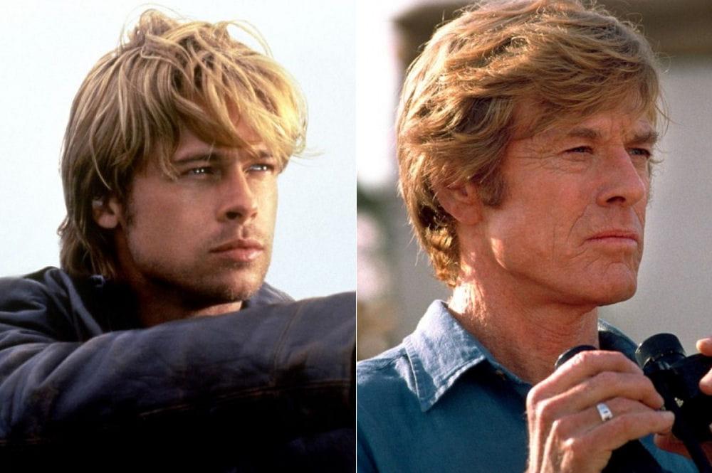 Robert Redford Brad Pitt Brad Pitt et Ro