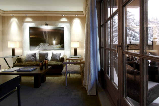 le cheval blanc courchevel les 20 plus beaux h tels de france linternaute. Black Bedroom Furniture Sets. Home Design Ideas