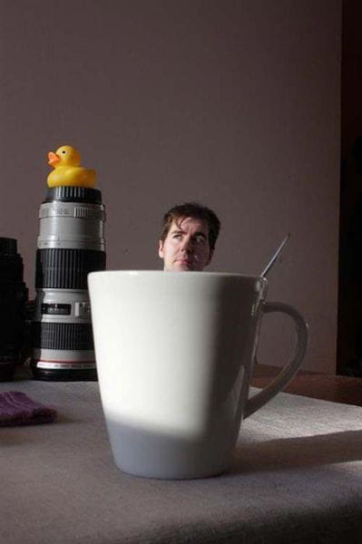 Illusion tasse de café