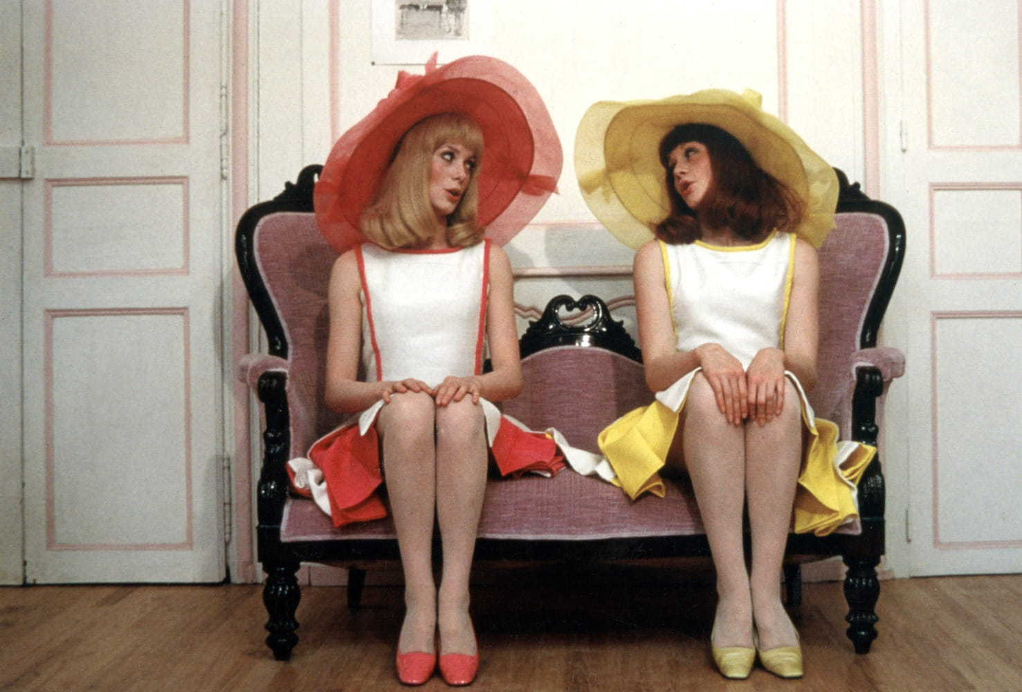 1967 les demoiselles de rochefort catherine deneuve for Les jardins de catherine