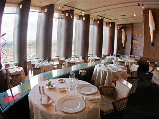 Restaurant A Lyon En Hauteur Avec Vue Sur Le Rhone