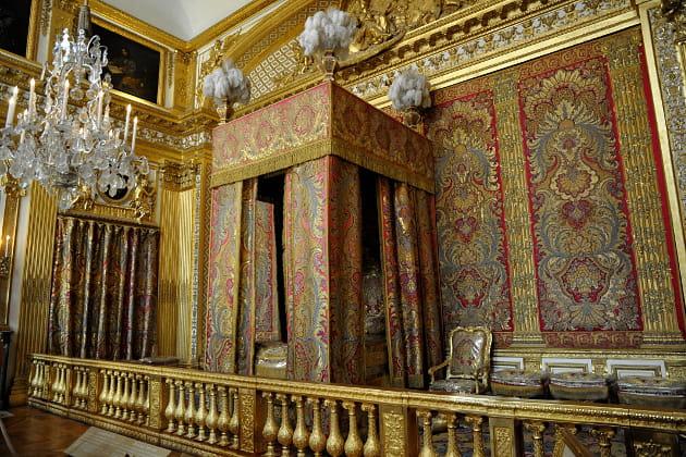 Ch teau de versailles chambre du roi une vie de roi for Chambre louis xiv