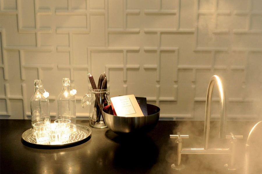 panneau mural tetris zoom sur les papiers peints 3d. Black Bedroom Furniture Sets. Home Design Ideas