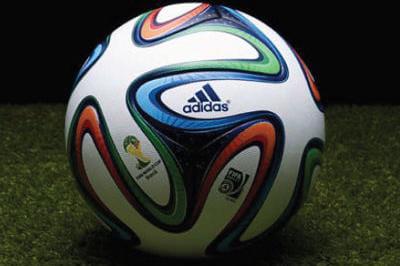 Brazuca le ballon de la coupe du monde 2014 d voil photo - Ballon de la coupe du monde 2014 ...