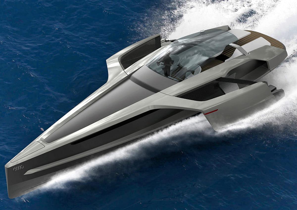 le concept du luxe A l'occasion d'un salon nautique japonais à yokohama, le constructeur automobile de luxe lexus a annoncé vouloir commercialiser son concept yacht : le sport - l'usine auto.