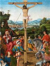 crucifixion. andrea di bartolo solaria (xvie siècle)