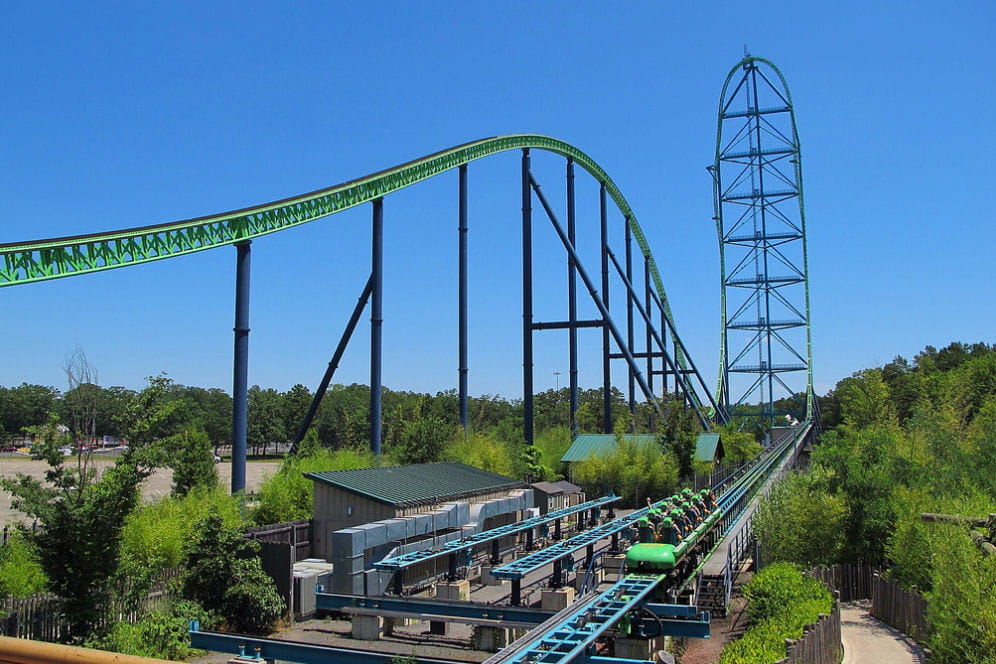 le plus grand roller coaster