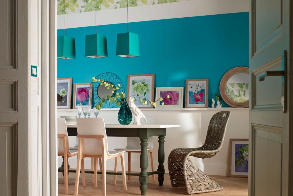 20 peintures pour mettre de la couleur dans la maison - Couleur de peinture pour maison ...