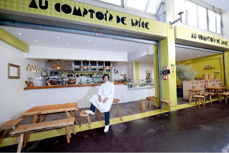Le comptoir de brice au march couvert st martin les for Comptoir cuisine ouverte