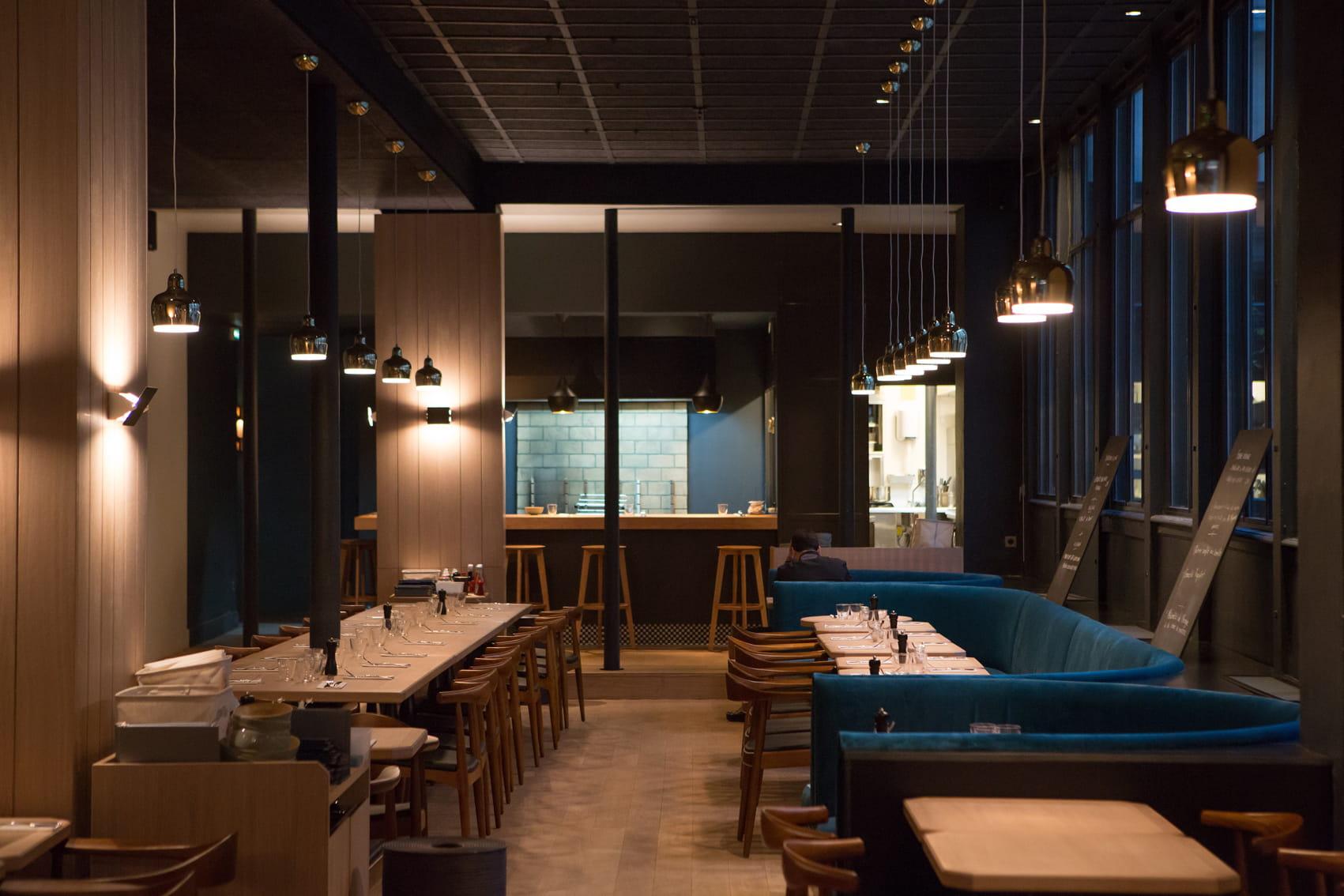 Beaucoup dans le marais les meilleurs restaurants avec for Cuisine ouverte restaurant