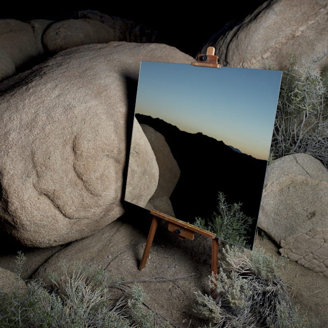 Des miroirs dans le d sert donnent des photos surr alistes for Pic de chix dans l miroir