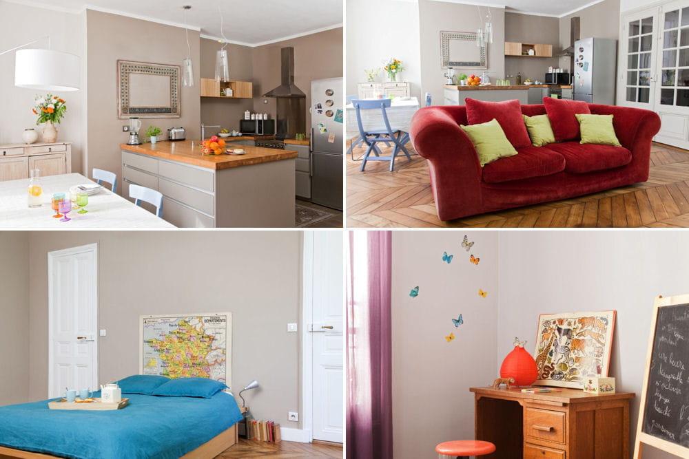 Visite d 39 un appartement familial color et authentique linternaute - Visite d un appartement ...