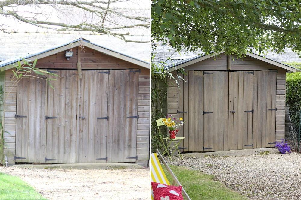 Avant/après : une cabane de jardin rénovée : Avant/après ...
