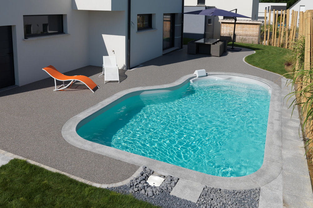 Piscine clea de waterair 25 piscines et spas installer - Margelle piscine waterair ...